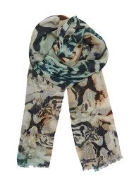 Lily and Lionel Shah Sunset Cotton Scarf - Sunset