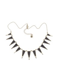 House Of Harlow Echelon Collar Necklace - Black