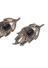 House Of Harlow Eye of Wisdom Earrings - Rose Gold