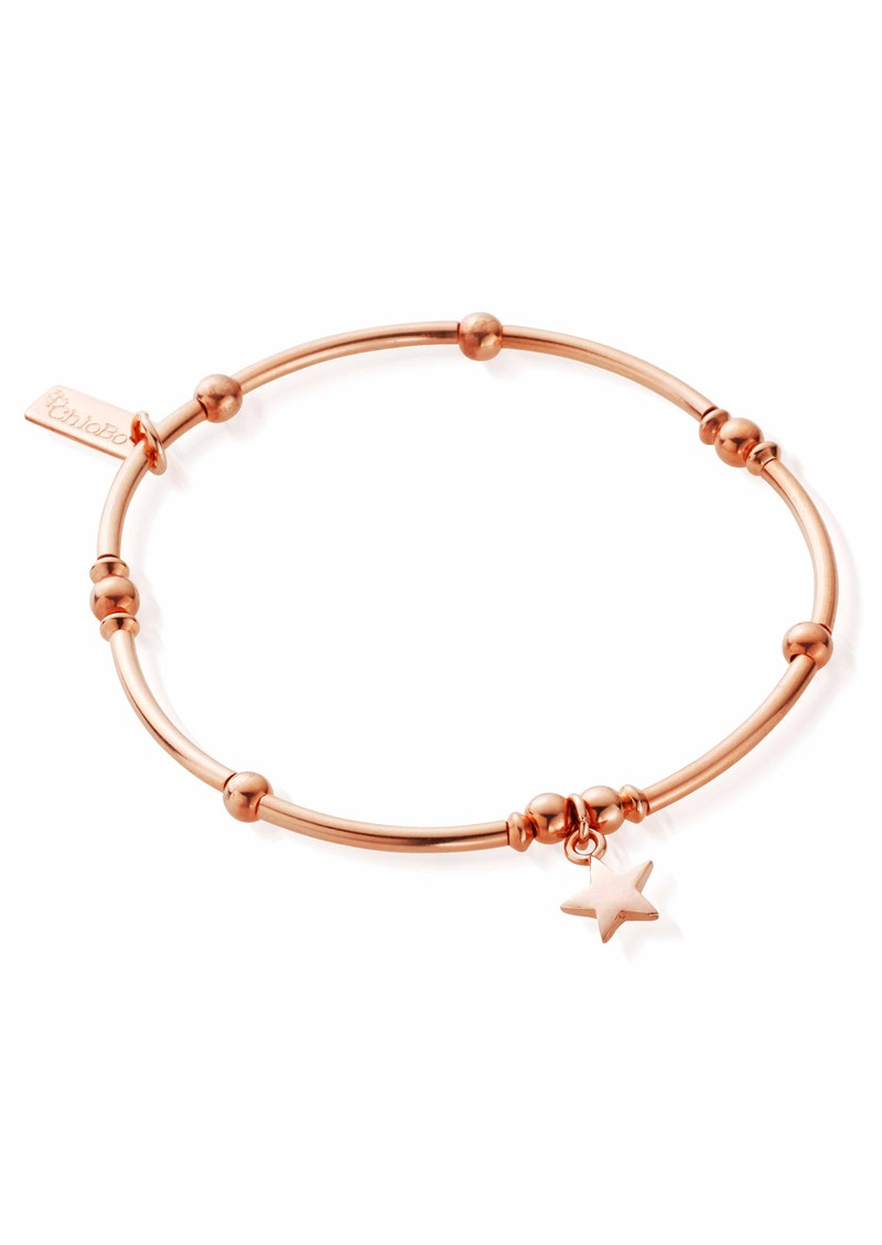 ChloBo Mini Noodle Ball Mini Star Bracelet - Rose Gold main image
