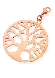 ChloBo Let's Dance Tree of Life Pendant - Rose Gold