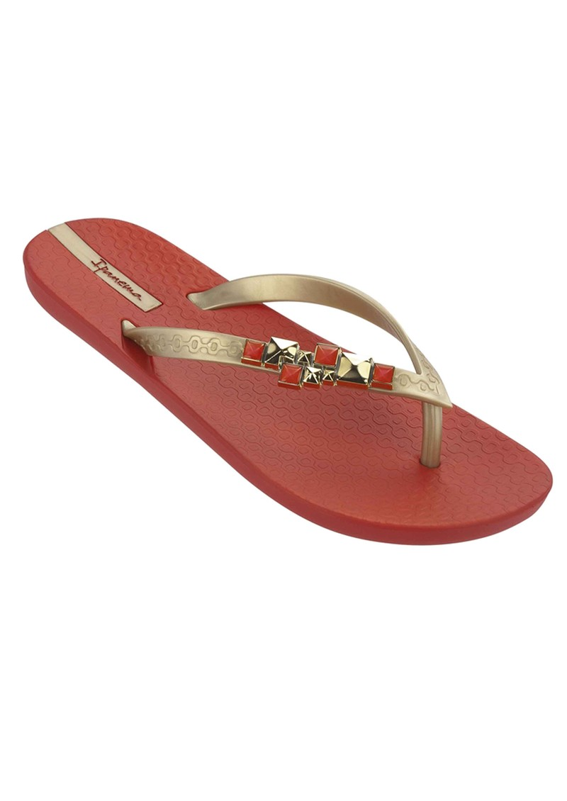 Ipanema Jewell II Flip Flops - Red main image
