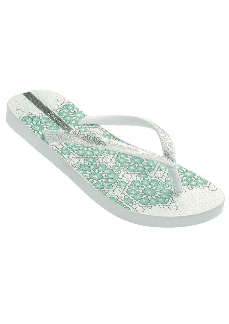 Ipanema Indian II Flip Flops - White main image