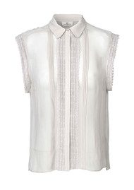 Day Birger et Mikkelsen  Lark Sleeveless Blouse - Silver Grey