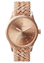 Triwa Rose Lansen Watch - Rose Gold & Tan
