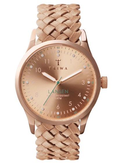 Triwa Rose Lansen Watch - Rose Gold & Tan main image