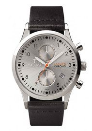 Triwa Stirling Lansen Chronograph Watch - Silver & Black