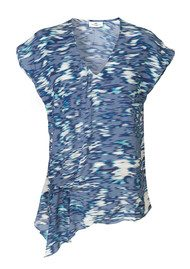 Day Birger et Mikkelsen  Sleeveless Viscose Moment Blouse - China Blue