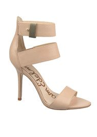 Sam Edelman Addie Buff Heels - Nude