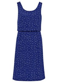 Great Plains Join The Dots Sleeveless Dress - Cobalt