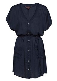 Great Plains Asha Slouchy Shirt - Navy