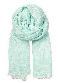 Becksondergaard M Paris Modal & Wool Blend Scarf - Light Mint
