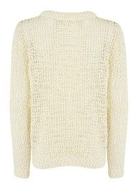 American Vintage Wadsworth Long Sleeve Knit - Pearl