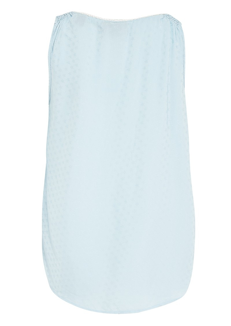 Maison Scotch Signature Silky Tank - Surf main image