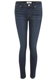 PAIGE DENIM Verdugo Ultra Skinny Ankle Crop Jeans - Nottingham