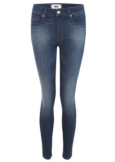 Paige Denim Hoxton High Rise Ultra Skinny Jeans - Zoe main image