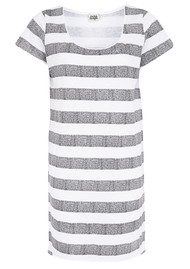 Twist & Tango Ingrid Striped Tee - White & Grey