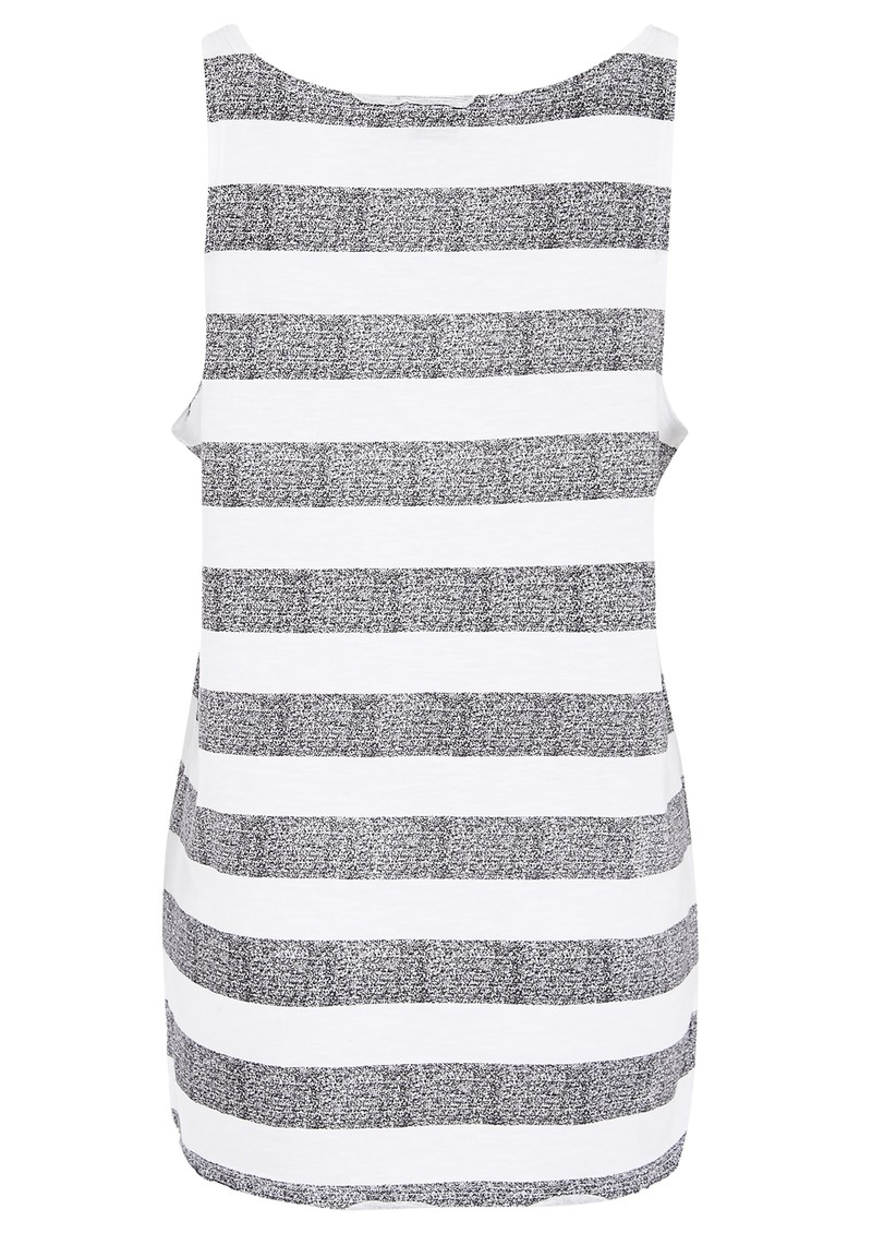 Twist and Tango Malena Tank Top - White & Grey main image
