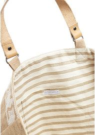 Star Mela Leila Embossed Bag - Ivory