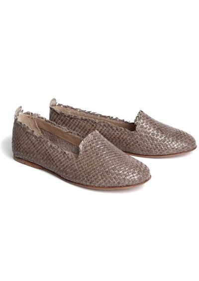H By Hudson Pyrenees Flat Shoes - Grey main image