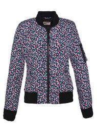 Worn By Printed Flower Bomber Jacket - Floral
