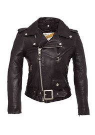 Worn By One Star Perfecto Leather Jacket - Black