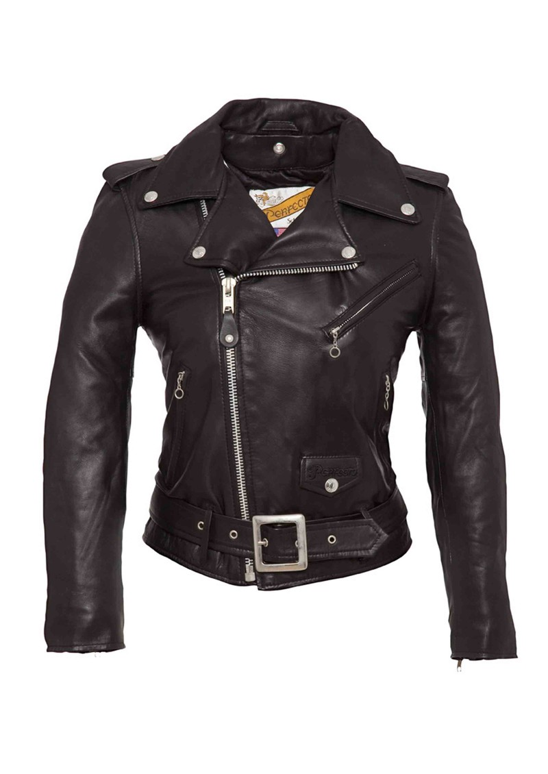 Schott One Star Perfecto Leather Jacket - Black main image
