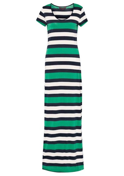 Great Plains Jolly Roger Stripe Maxi Dress - Seahorse Green main image