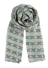 Becksondergaard K Ballet Of The Stars Scarf - Mint Leaf