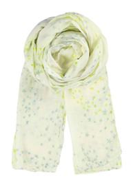 Becksondergaard K Circle Star Scarf - Neon Yellow