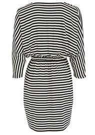 LOLLYS LAUNDRY Judy Stripe Dress - Black & Cream