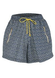 LOLLYS LAUNDRY Edie Printed Shorts - Blue