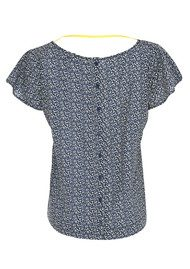 LOLLYS LAUNDRY Fatima Printed Top - Blue