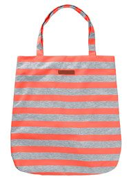 Becksondergaard K Lollypop Tote Bag - Neon Orange & Grey