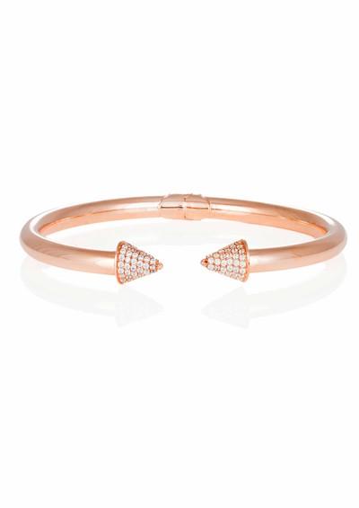 Ingenious Pave Cones Bracelet - Rose Gold main image