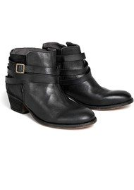 H By Hudson Horrigan Ankle Boots - Jet