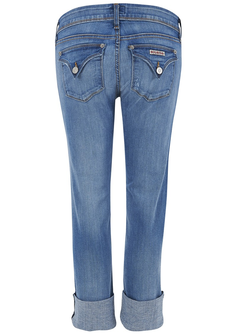 Hudson Jeans Ginny Crop Straight Leg Jeans - Voo main image