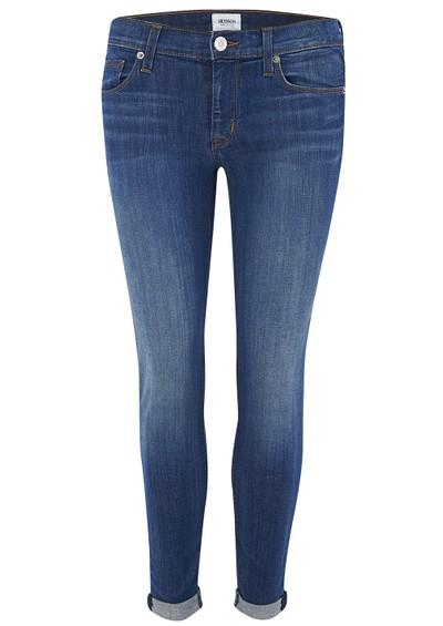 Hudson Jeans Harkin Crop Super Skinny Jeans - Stepping Stone main image
