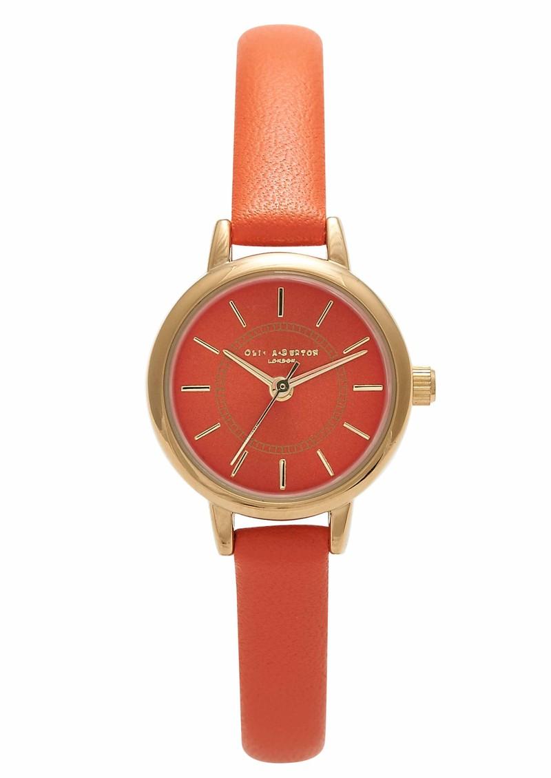 Olivia Burton Colour Crush Watch - Neon Orange & Gold main image
