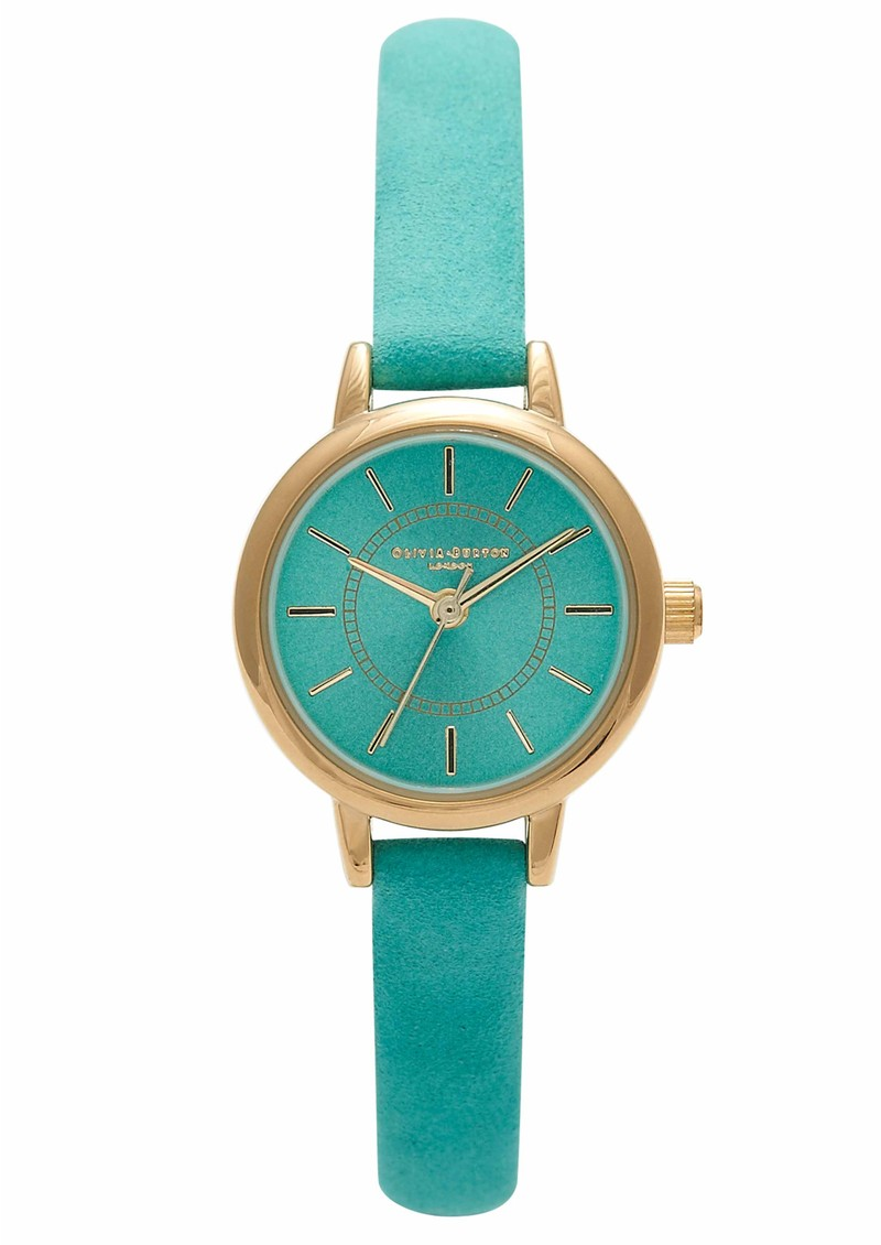 Colour Crush Watch - Gold & Teal main image