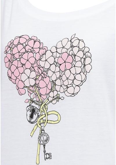 Language Of Flowers Phlox Sweater - White main image