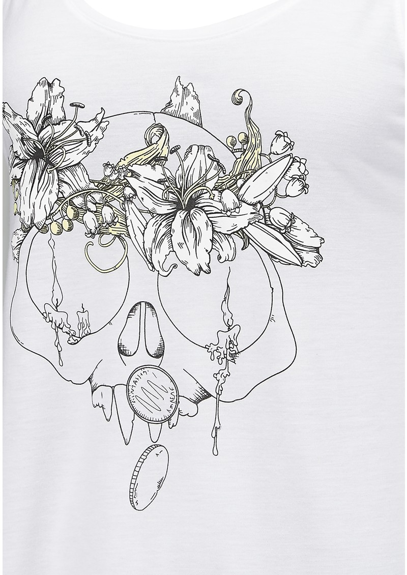 Language Of Flowers Lilly Tank - White main image