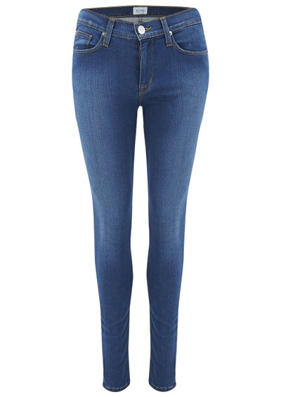 Hudson Jeans Nico Mid Rise Super Skinny Jeans - Woodstock main image