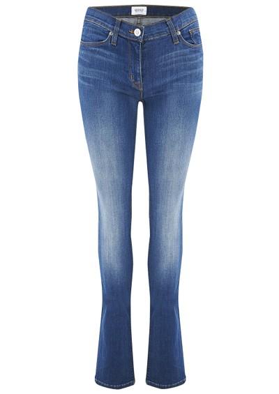 Hudson Jeans Tilda Mid Rise Straight Leg Jean - Stepping Stone main image