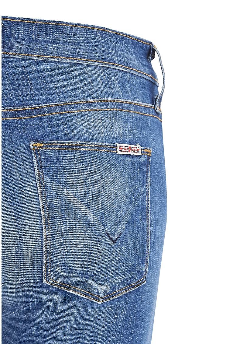 Hudson Jeans Tilda Mid Rise Straight Leg Jean - Stepping Stone main image
