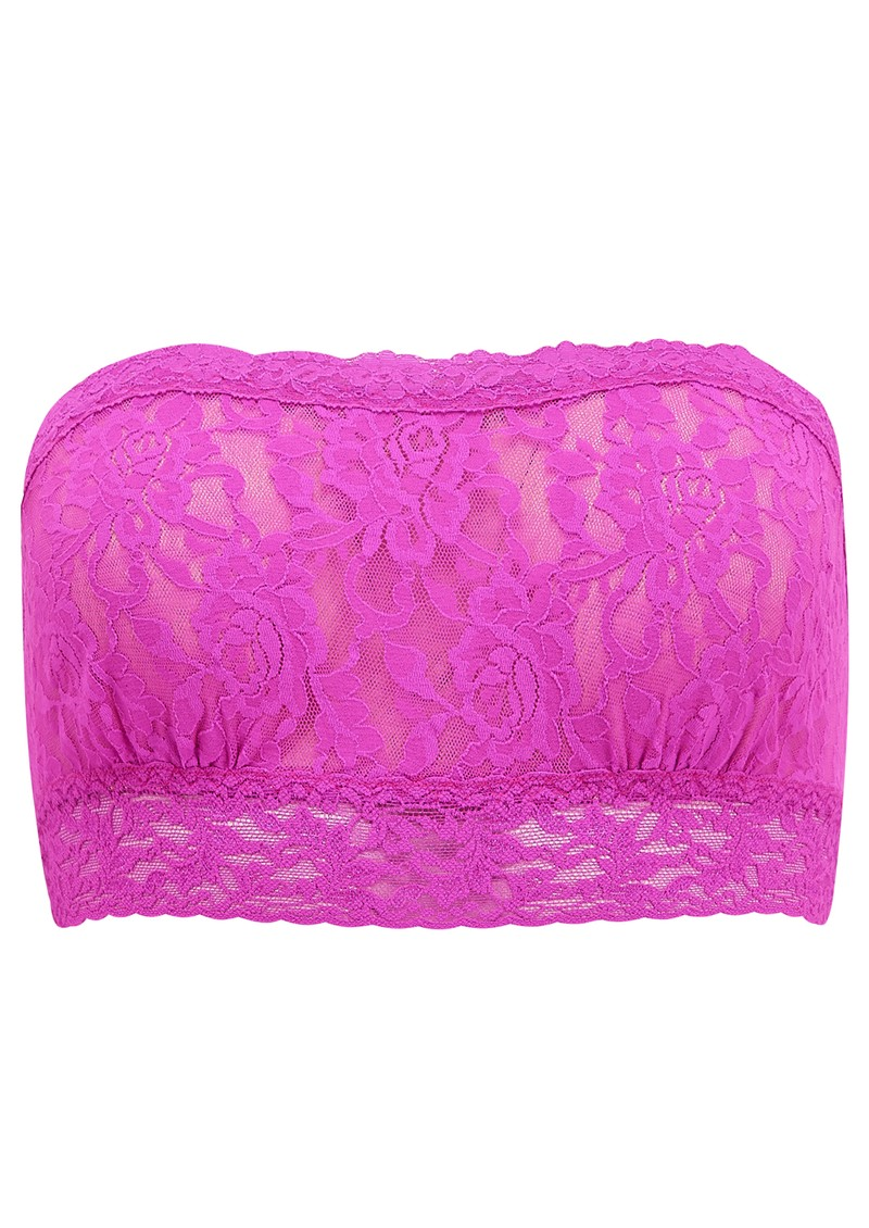 Lace Bandeau - Sour Cherry main image