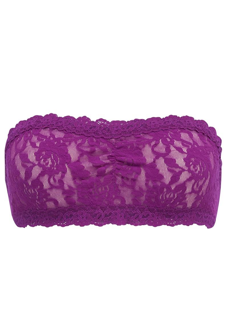 Hanky Panky Lace Bandeau - Purple main image
