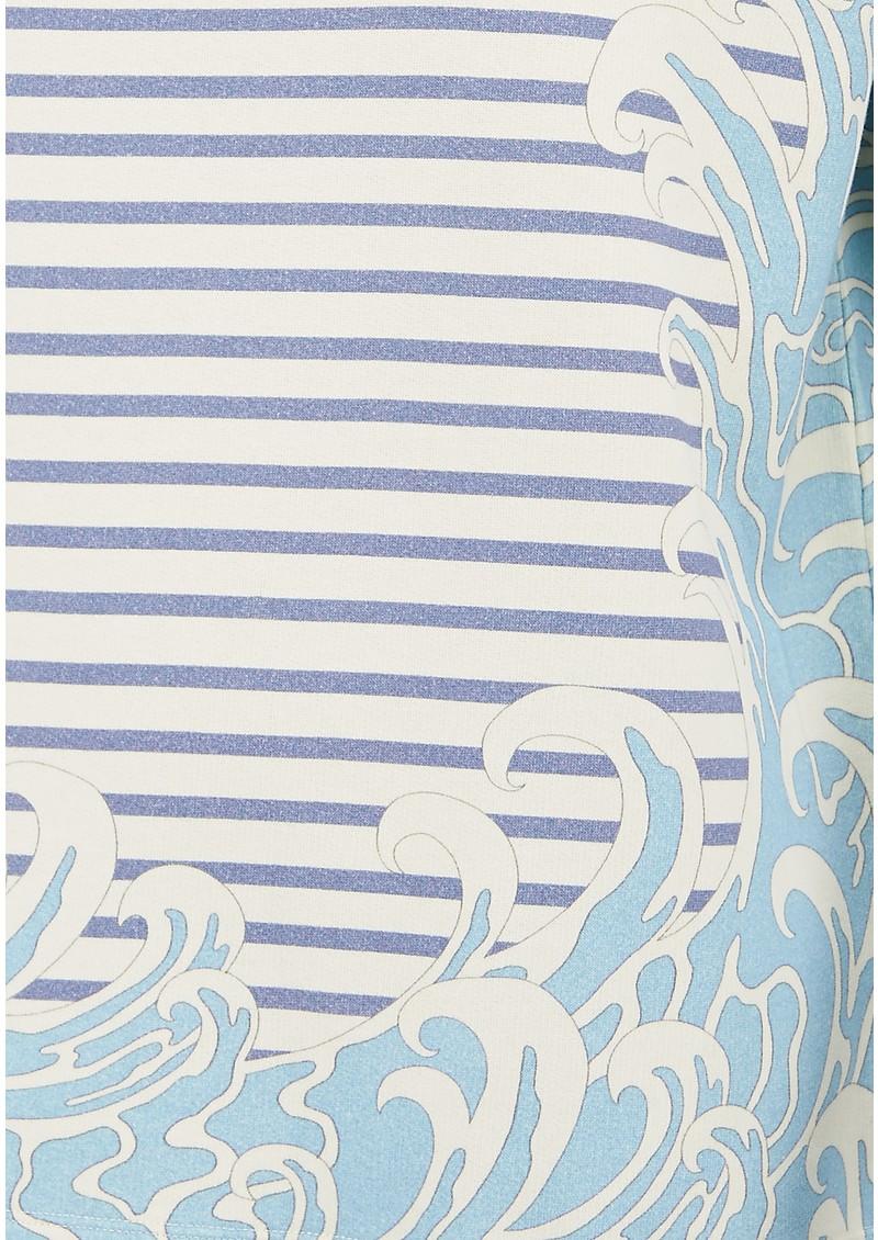 Paul and Joe Sister Sailor Short Sleeve Cotton Top - Bleu main image