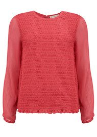 Paul and Joe Sister Lutine Long Sleeve Blouse - Frambois
