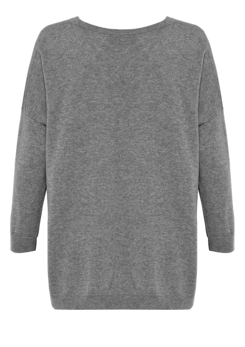 Summer Breeze Slouchy Cashmere Mix Jumper - Marble main image